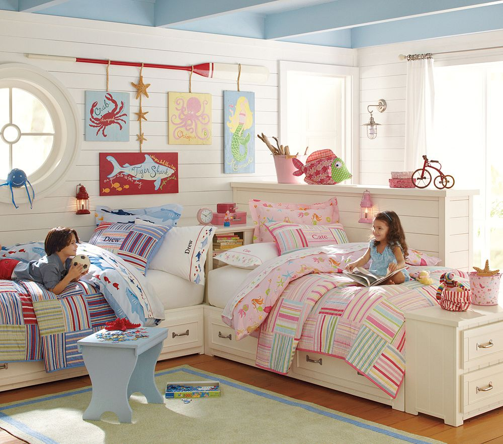 Pottery Barn Kids Bright Stripes Bedding Decor Look Alikes