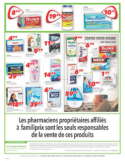 Familiprix Weekly Flyer and Circulaire January 11 - 17, 2018