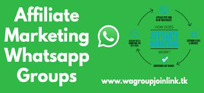 Affiliate marketing whatsapp group