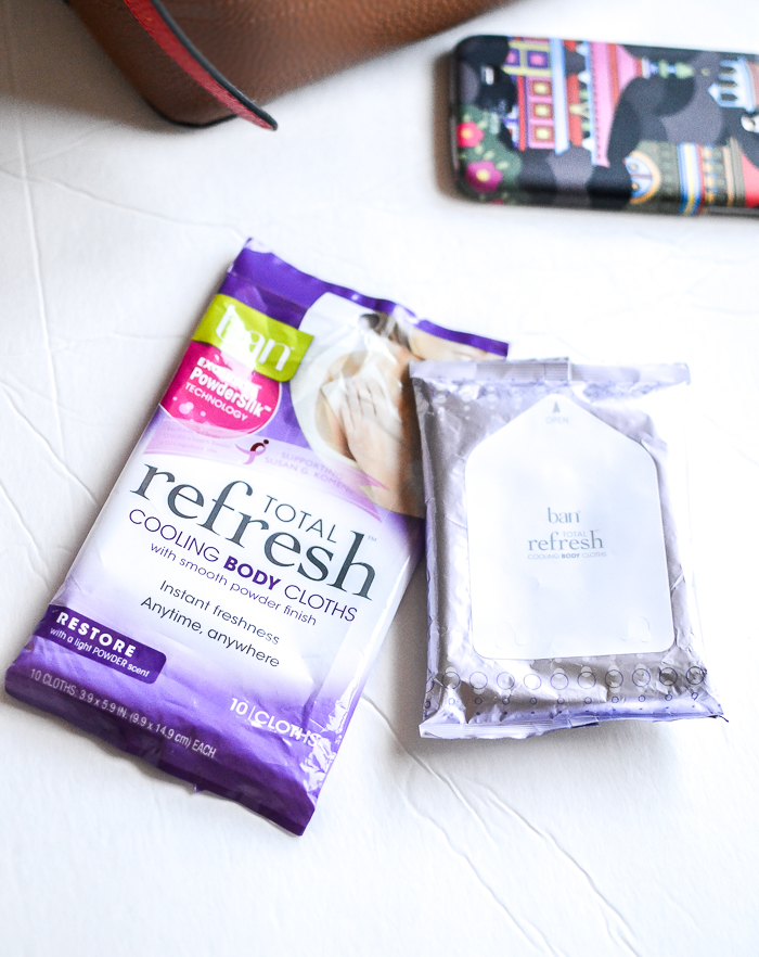 Ban Total Refresh Cooling Body Cloths Restore Review