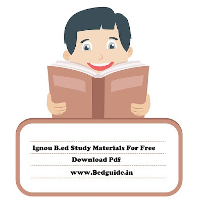 ignou b.ed entrance study material