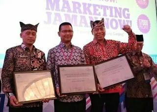 3 layanan publik Banyuwangi raih penghargaan marketeers of the year