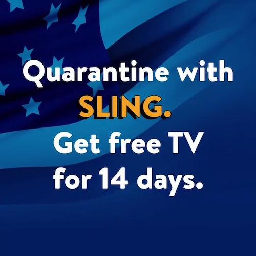 Watch Sling TV Free for 14 Days!