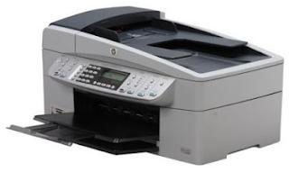 Die Officejet 6310 auch shäred das Design mit den meisten anderen HP Officejet. Es ist ziemlich breit, aber weniger Tiefe thän einige seiner Konkurrenten
