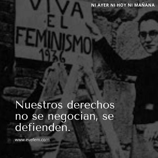 Formación feminista. Resistencias machistas