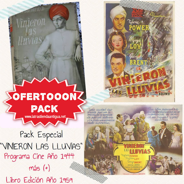Pack Especial - Libro y Programa de Cine Vinieron las LLuvias