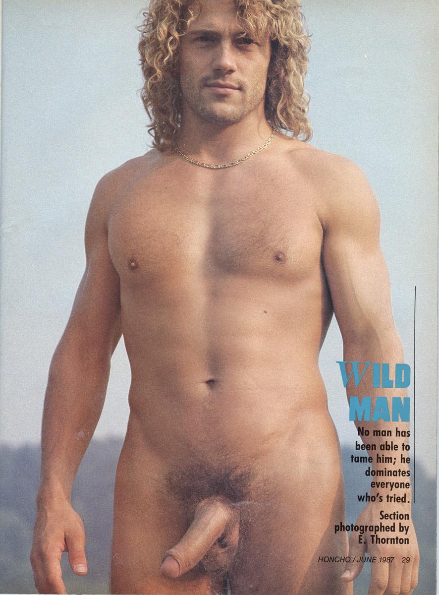 honcho gay porn june 1986