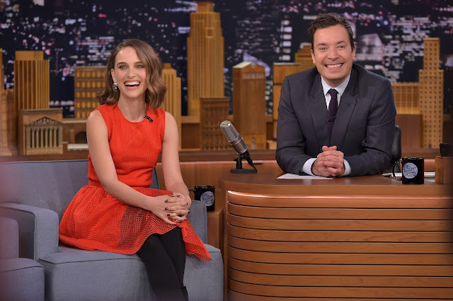 "Actress, @ Natalie Portman - ""The Tonight Show Starring Jimmy Fallon"" in New York City"