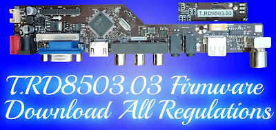 T.RD8503.03 firmware download All Regulations Free New update files.