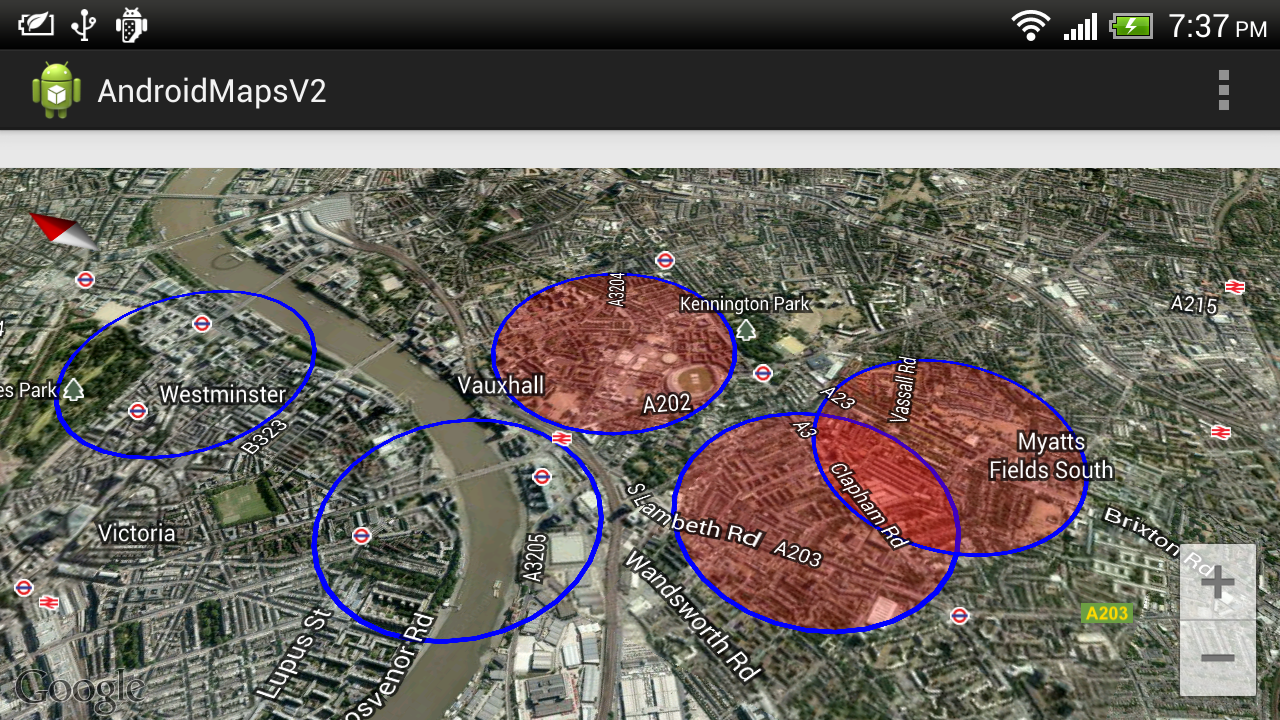 Android Er Draw Tranparent Circle For Google Maps Android Api V2