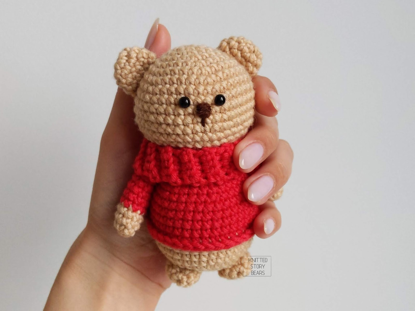 Crochet Teddy Bear Written Pattern and Video | 1199x1600