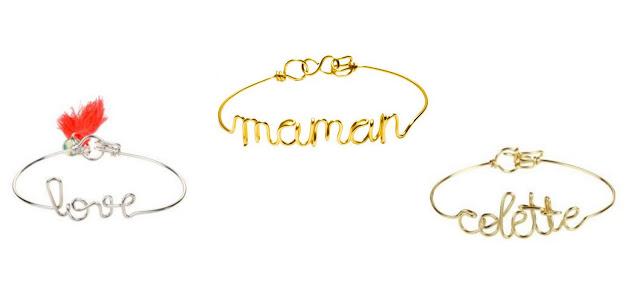 bracelet prénom atelier paulin paris