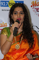 Marath Actrss Urmila Kanitkar Celetes Gudi Padwa in Orange Saree 22.JPG