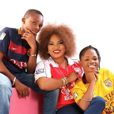 Regina Chukwu and Kids