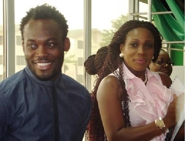 Michael Essien's wife, Akosua Puni buys Italian club for €237,000