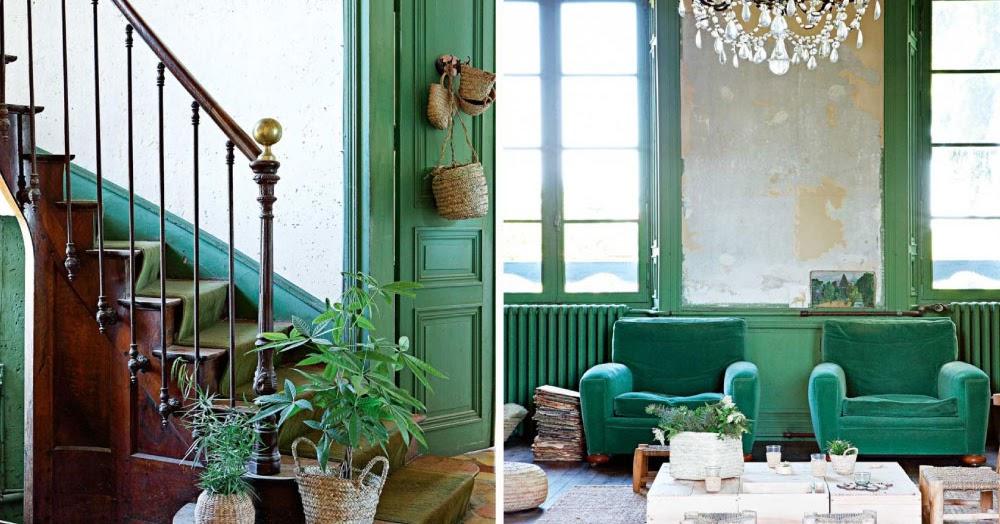 Atmosfera boh mienne per un castello restaurato in francia for Blog di arredamento casa