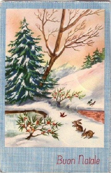 Molto U.T.E. SACILE: Care, vecchie cartoline di Natale YM54