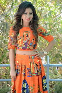 Actress Mi Latest Stills in Long Dress at O Sthree Repu Raa Movie Success Meet  0017.jpg
