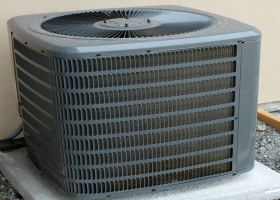 Picture of a air conditioner.