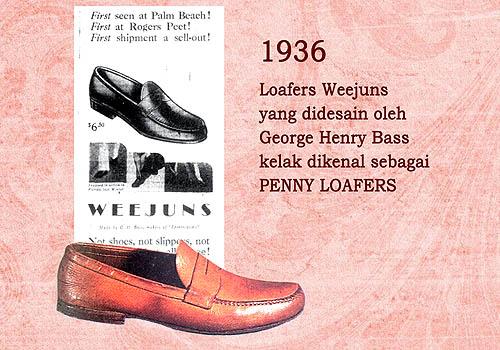 Penny Loafers model sepatu wanita