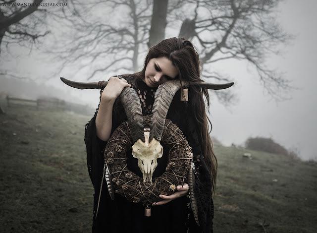 Pagan He-Goat Wreath by Aker Dantzaria, Victoria Francés