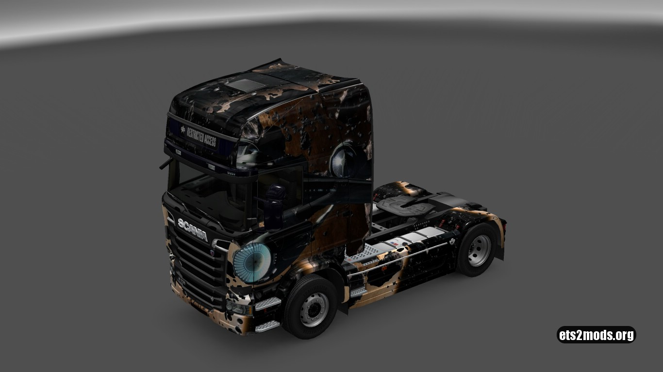 StarTrek Skin for Scania Streamline