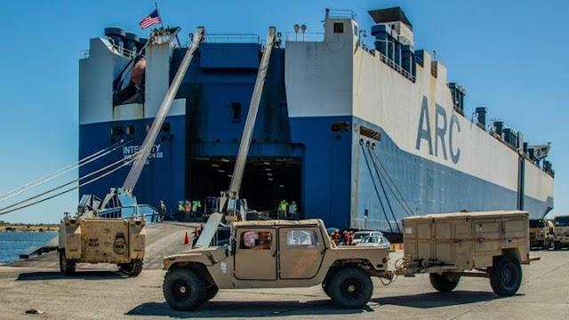 Αμερικανική απόβαση στην Αλεξανδρούπολη-Το τριπλό μήνυμα στήριξης στην Ελλάδα (ΒΙΝΤΕΟ)