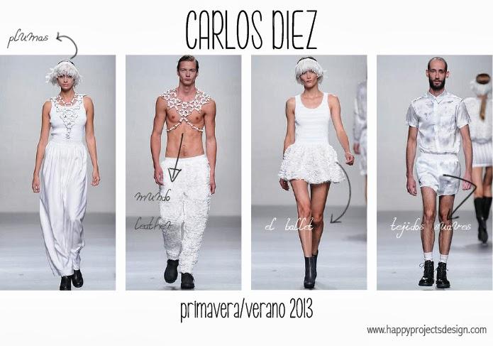 Imágenes del desfile de Carlos Diez