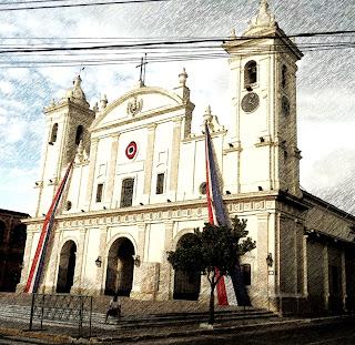 La Catedral de Asuncion, no Paraguai