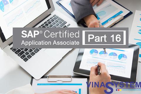Bộ câu hỏi chứng chỉ SAP Business One (Phần 16)