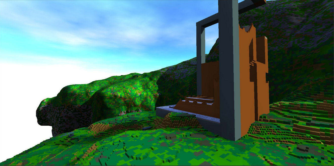 Procedural World: Boxes to Voxels to Boxes