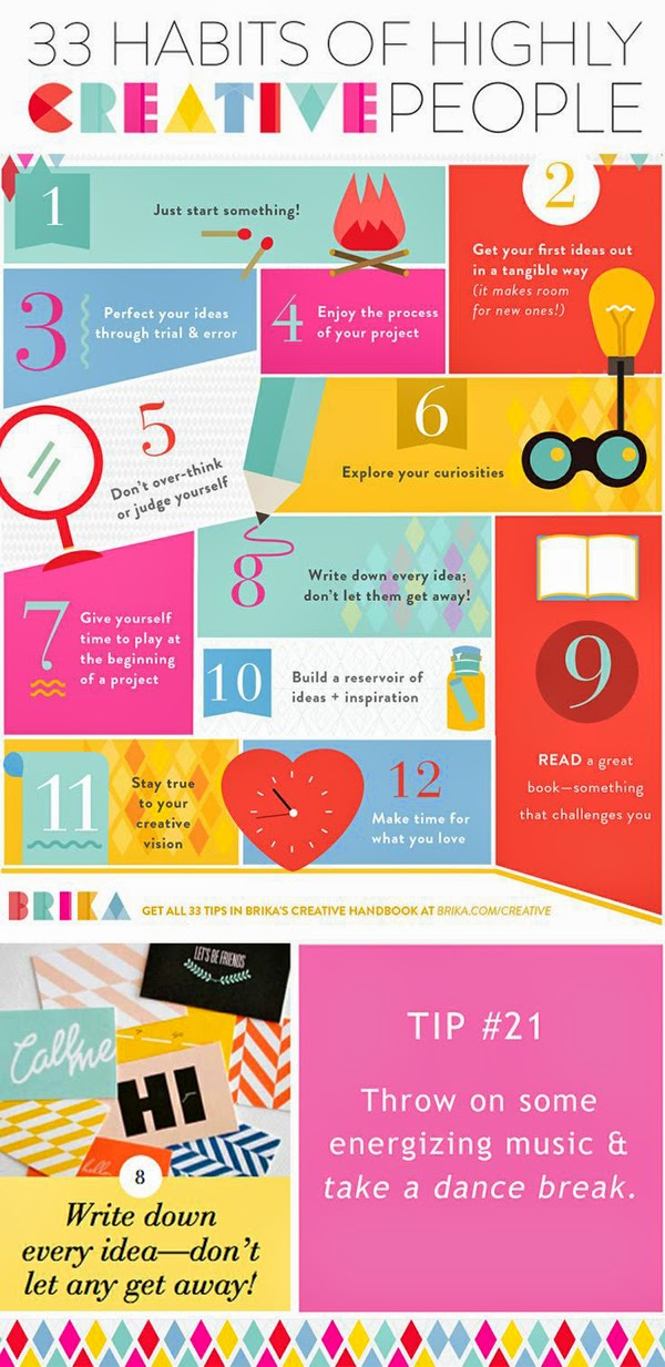 32 Highly Creative And Cool Floor Designs For Your Home: Happiness Is...: 33 Habits Of Highly Creative People