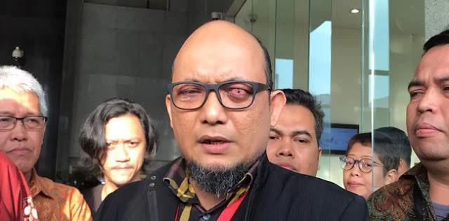 Kasus Novel Tak Juga Jelas, KPK Tagih janji Kabareskrim