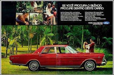propaganda Ford Galaxie 500 - 1971, , Ford Willys anos 70, carro antigo Ford, década de 70, anos 70, Oswaldo Hernandez,