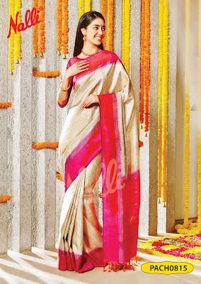 Nalli Silks Deepali Silk Sari Collections