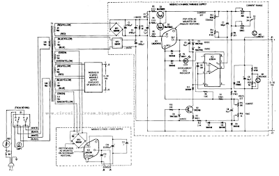 Dual 50V/5A Universal Power Supply Circuit Diagram