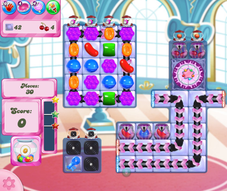 Candy Crush Saga level 2652