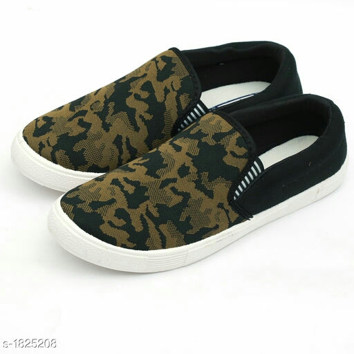Trendy Canvas Men's Casual Shoe