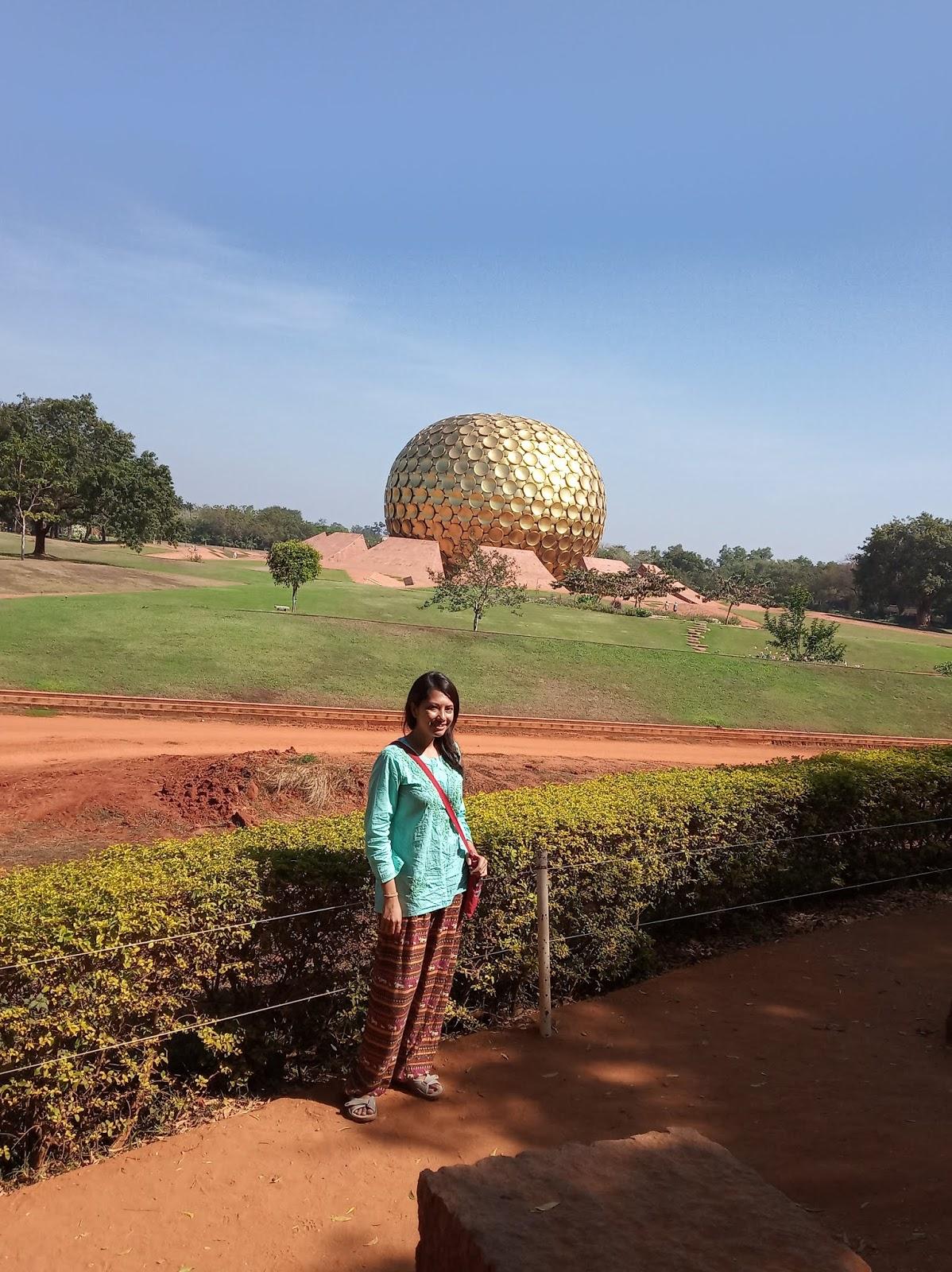 Matrimandir Auroville India | Ummi Goes Where?