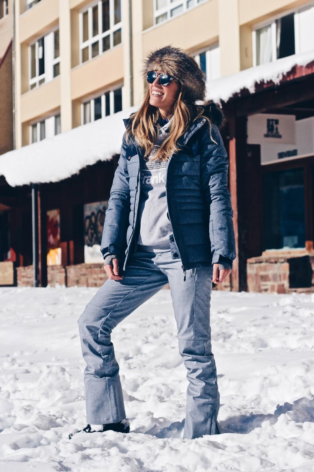 como vestir en la nieve