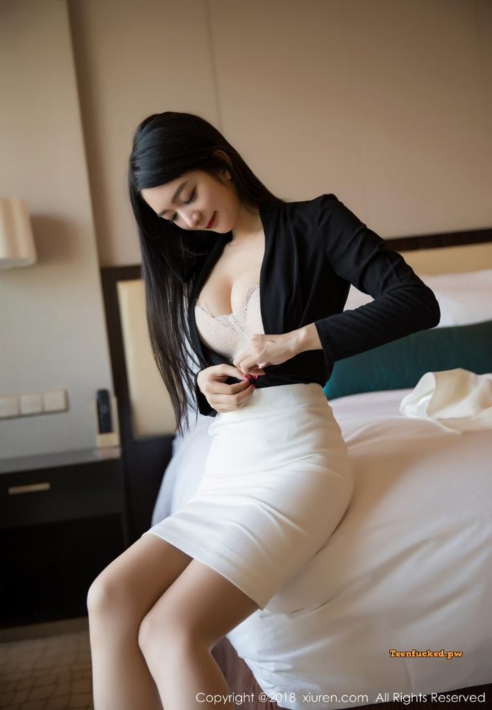 XIUREN No.1209 Xiao Reba Angela MrCong.com 035 wm - XIUREN No.1209: Người mẫu Xiao Reba (Angela小热巴) (52 ảnh)