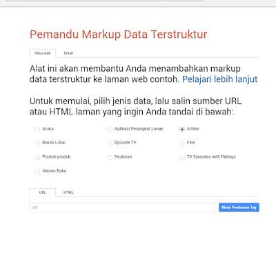 Pemandu Markup Data Terstruktur