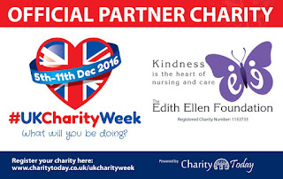 UK Charities Week which begins on Monday, 5th December 2016, and as an official partner Charity The Edith Ellen Foundation