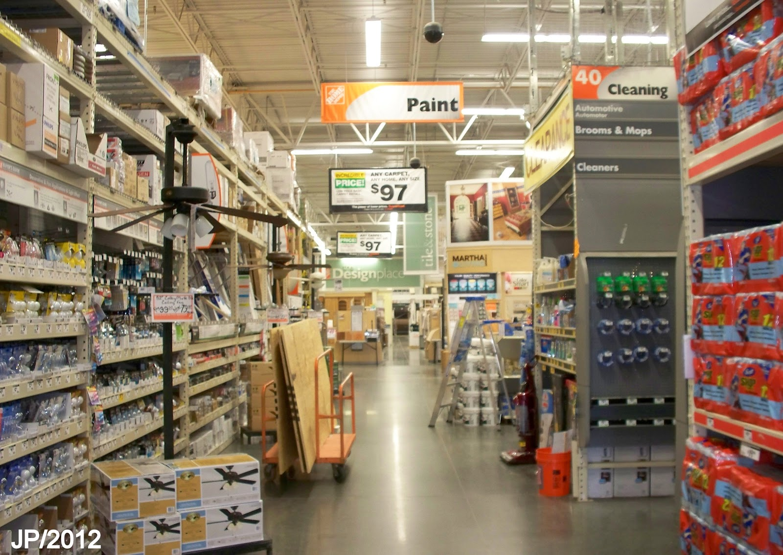 The Home Depot Paint Department Store