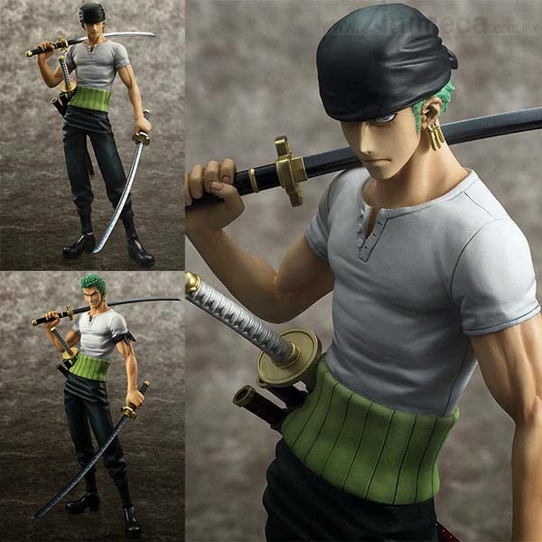RORONOA ZORO 10th LIMITED Ver. NEO-DX EXCELLENT MODEL P.O.P FIGURE ONE PIECE MEGAHOUSE