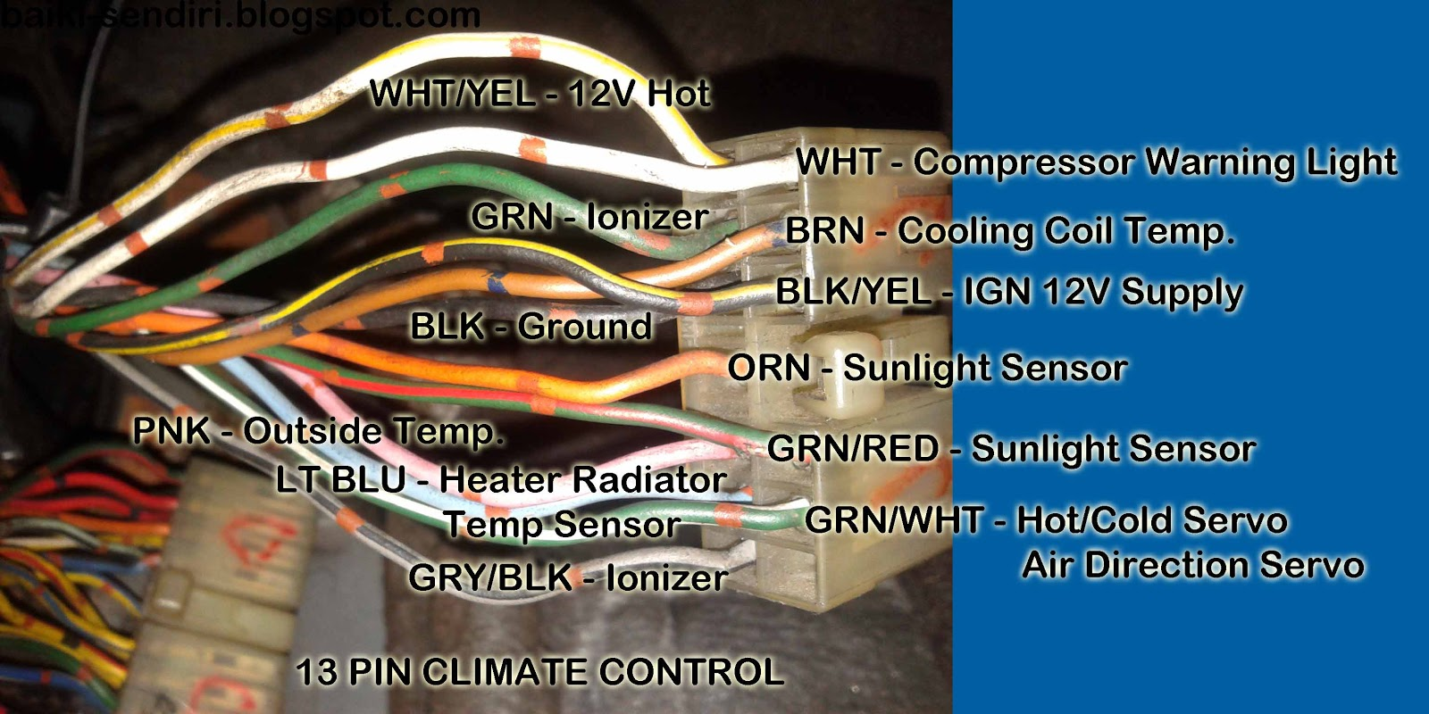 small resolution of diy fix on your own honda prelude ba5 3rd gen digital climate control fix on your own circuit diagram honda prelude 3rd ba5 with alarm