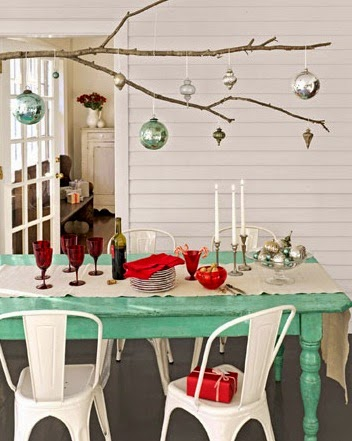 Decorating for Christmas on budget