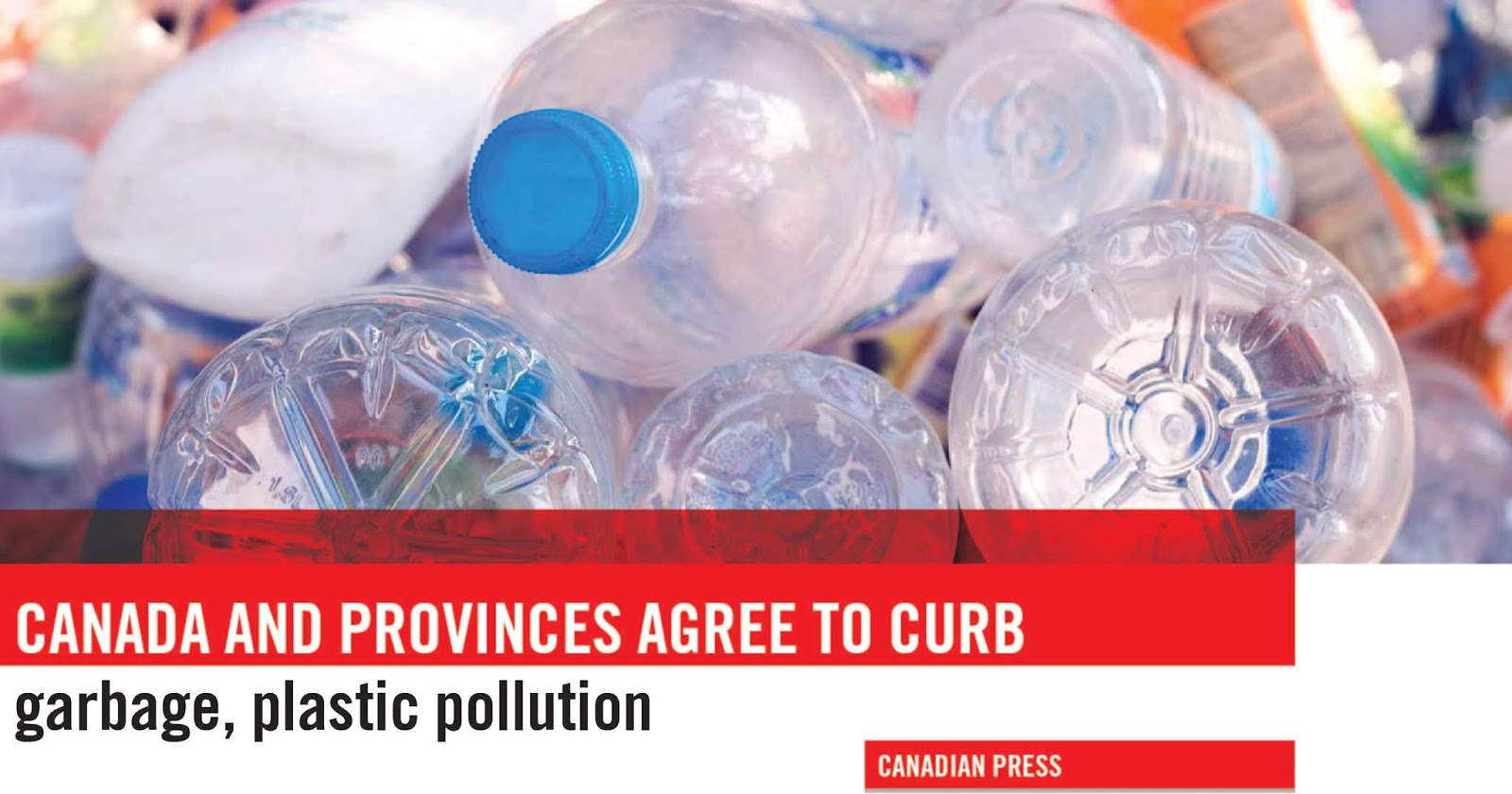 Canada and provinces agree to curb garbage