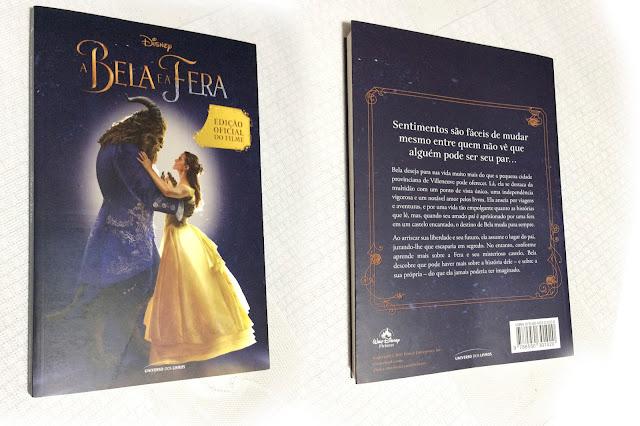 A Bela e a Fera (Edição Oficial do Filme) - Valor: R$:20,00 - Editora: Universo dos Livros