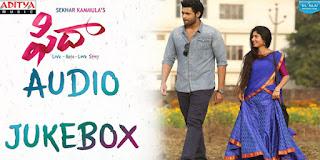 Listen Fidaa Telugu Movie Songs Online